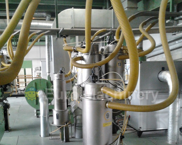 Battenfeld - Used 7 layer Co-extrusion line