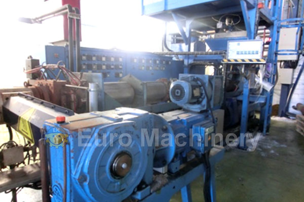 Samafor 120 - Used Sheet Extrusion Line