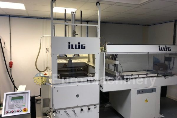 Used Illig Thermoforming line for sale