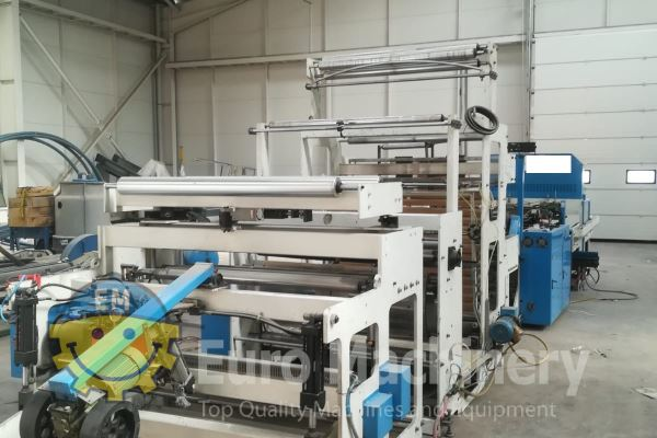 Used LUNG MENG TPA 800 FCDP - Carrier Bag Making Machine