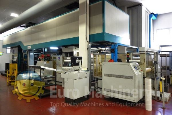 Secondhand UTECO Emerald 120 GL - Gearless CI Flexo Printer