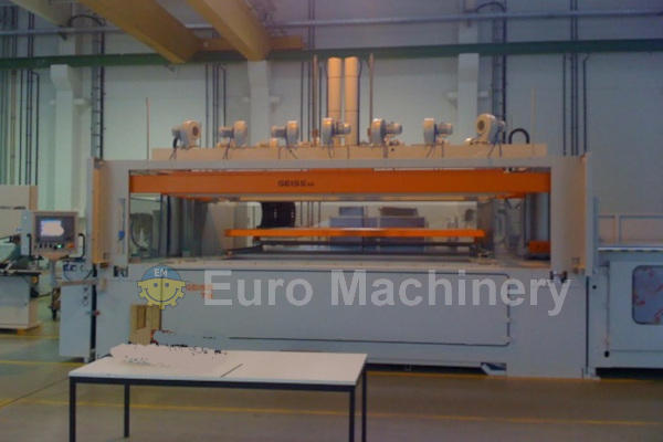 Used GEISS DU T9 Thermoforming line
