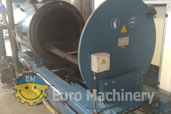 Used Nordson JCP 1724 Jet Cleaner