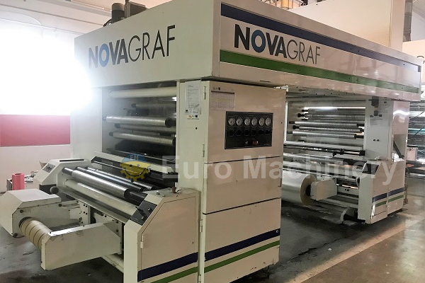 7138 Novagraf SLS 50 1100 used laminator for sale by Euro Machinery