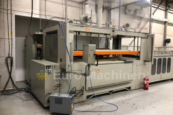Used GEISS T7 Thermoforming line