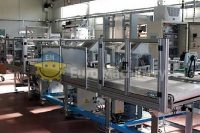 Used MOBERT M.S.H. 110 Flexo-Loop bag making machine
