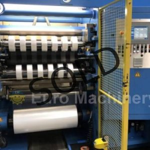 5687 KAMPF Microslit 1000mm Slitter rewinder for sale by Eyro Machinery