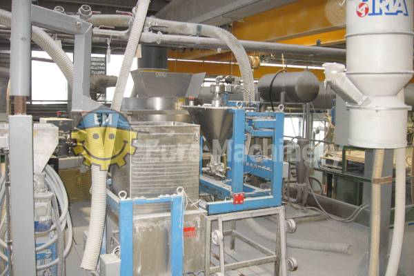 Film Extruder Machine | ICMA SAN GIORGIO MCM 140-32D BIVITE - Twin Screw Extruder