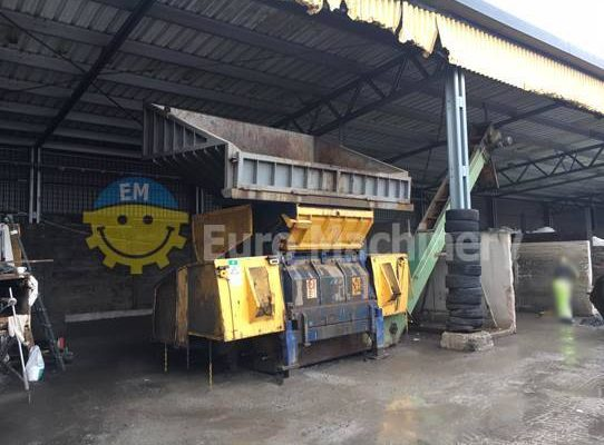 Waste Shredder - Fransson FRP 180/60 | Secondhand Machinery