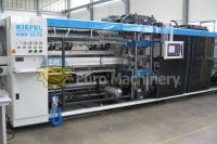 Thermoforming machine ILLIG RV 53 | Thermforming line for different plastic types. PET, PE, PP, PS, and HIPs. Contact us today for more infomation.