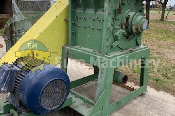 Plastic Granulator - Used Recycling Granulator for Sale. Top quality used Machinery for sale by Euro Machinery. HDPE, PP, ABS, PC, PMMA, PVC, Tyre rubber