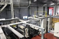 Used TCE Cast film line Available multi-layer cast film extrusion line in good condition
