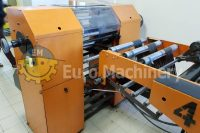Plastic bag making machine. For production of garbage bags with recycled material. Bags on roll for fruit and vegetables. For sale by Euro Machinery.