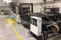 Used Lemo Bag MakingMachine for production of garbage bags and roll bags with bioplastic. Can process LDPE, HDPE and recycled extract. Rollomat Varitronic
