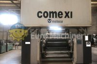 Comexi Flexo Printing Machine for by Euro Machinery. Can print in 8 colors on plastic flims and paper materials. In excellent used condition.
