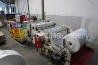 HEMINGSTONE bag making machine for producing PE and recycled extract bags. Machine is in excellent working order and can be seen in production.