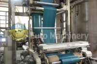 Recycling Extrusion Line for processing PE, LLD, Borstar and many more blends. Screw 80 mm and up to 140 kg/h. Machine is in very good condition.