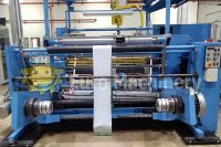 Kampf slitter rewinder with width of 1650 mm. Can process OPP films and other materials like paper. In good used condition.
