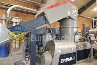 INTAREMA 1108 TVEplus. Erema Recycling Line for PE, PP, PS, EPS, HDPE. Like new condition. Excellent used machine ready to be put into production.