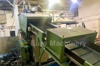 Agglomerator - Cutter Compactor for recycling plastic films. EREMA RM 80 TVE Repelletizing Line. In good contition. Has 80 mm screw and up to 250 kg/h.