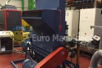 ADLER Shredder for processing different types of post-consumer and post-industrial materials. Machine is in good condition and can be seen in production.