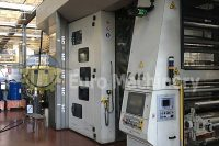 Flexotecnica CI Flexo Printer - Gearless 10 color printer for plastic and paper films. Flexotecnica Chronos 10. In excellent working condition.