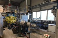 Hot die watering pelletiser NGR Cascade Recycling System. Can process ABS, PS, PO, PET materials. Euro Machinery - Used Recycling Machines