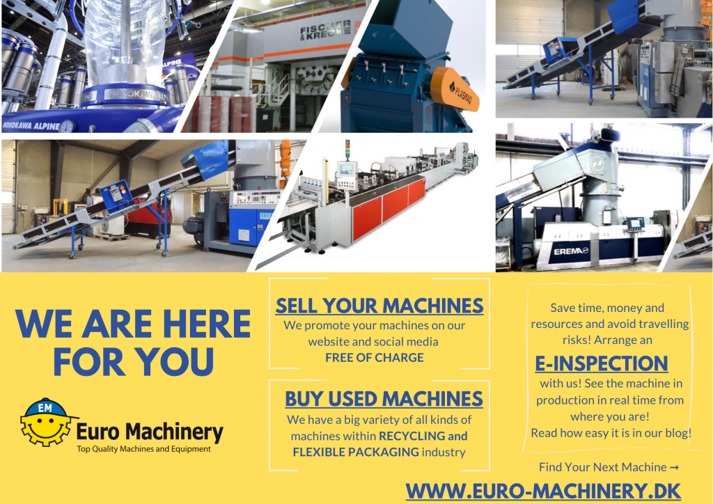 Buy and sell with Euro Machinery!