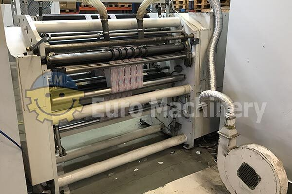Bielloni Slitter Rewinder For Processing Paper and Plastic Films
