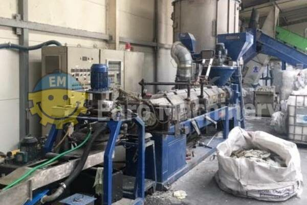 PREALPINA Recycling Line for PE Plastic Waste - Double Degassing