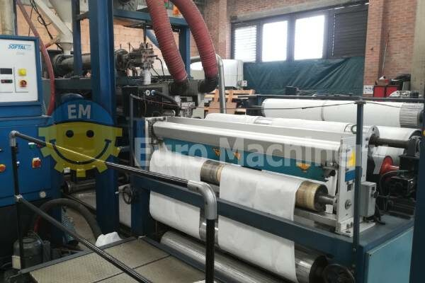 Starlinger Stacotec Extrusion Coating Line - For LDPE and PP