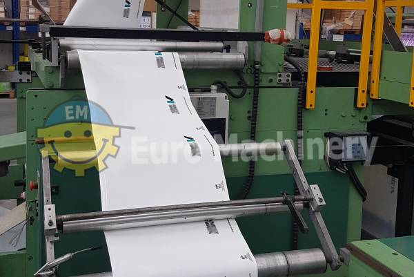 Elba patch handle bag machine