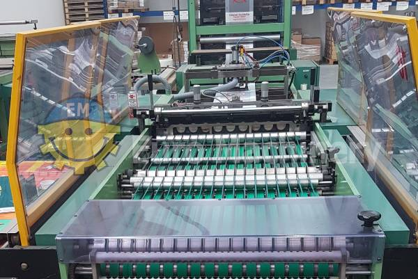 Elba Patch handle bag making machine